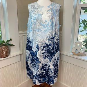 Calvin Klein Scuba Floral Sheath Dress NWT 20W